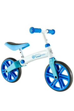 Y Velo JR Double Wheel Balance Bike - Blue