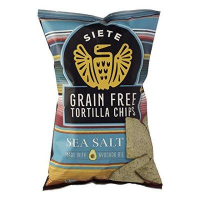 Siete 2007912 5 oz Sea Salt Tortilla Chip - Case of 12