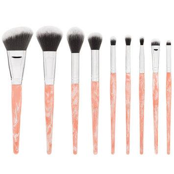 Rose Quartz - 9 Piece Brush Set