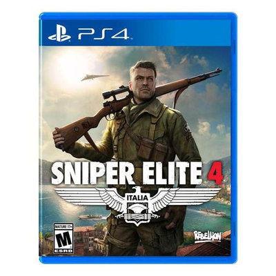 Sniper Elite 4 Day One Edition - Playstation 4