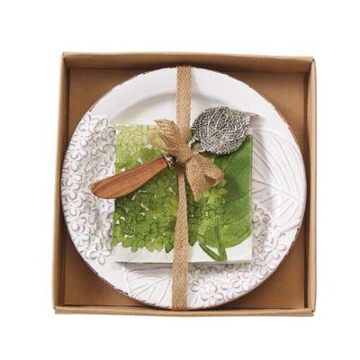 Mud Pie® Hydrangea 3-Piece Cheese Set