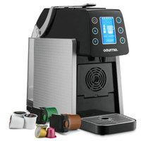 Gourmia® 1-Touch K-Cup Espresso/Coffee Capsule Machine in Silver