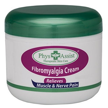 Phys Assist Fibro Cream 4oz Deep Soothing. Penetrating Comfort to Muscles & Tendons