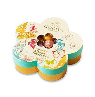 Godiva® 32-Pc. Individually Wrapped Candy Flower Box
