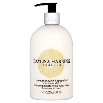 Baylis & Harding Mosaic Hand Lotion Sweet Mandarin & Grapefruit (500ml) - Pack of 2