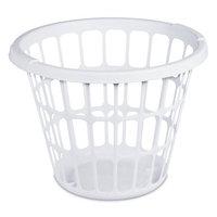Sterilite Corporation Mainstays 1 Bushel Laundry Basket- White, (Available in Case of 12 or Single Unit)