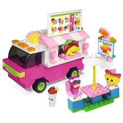 Shopkins Kinstructions Food Fair Buildable Truck and Figure Play Set