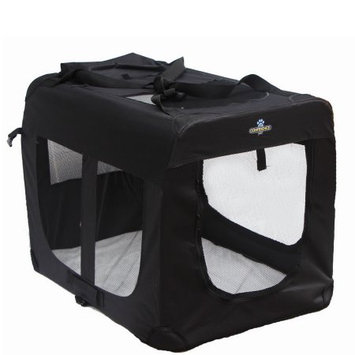 Confidence Pet Portable Folding Soft Sided Dog Crate Kennels Large
