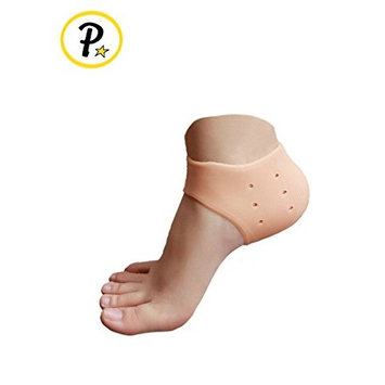 Plantar Fasciitis Silicone Gel Protective Heel Shock Absorbing Sleeve Breathable Air Support