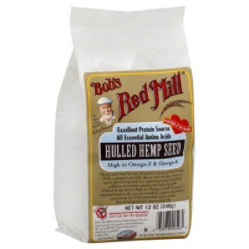 Bob's Red Mill Hulled Hemp Seed Hearts, 12 Ounce (Pack of 4) (Package May Vary)