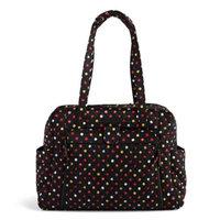 Vera Bradley Large Stroll Around Baby Bag in Havana Dots