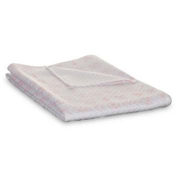 Living Textiles Pink Alphabet Blanket
