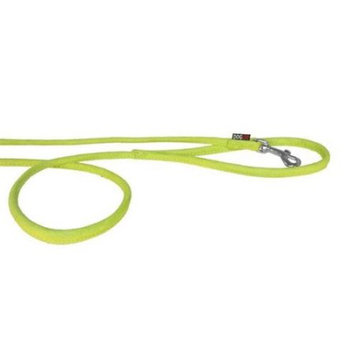 Dogline M8044-5 4 ft. L x 0.25 W in. Comfort Microfiber Round Leash Green