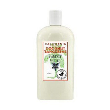 California Natural Coconut Tangerine Intensive Skincare V'TAE Parfum and Body Care 16 oz Lotion