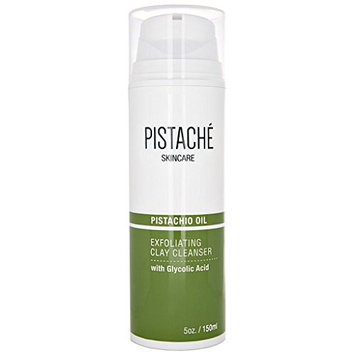 Exfoliating Clay Cleanser with Glycolic Acid by Pistaché Skincare – Foaming Deep Cleanser