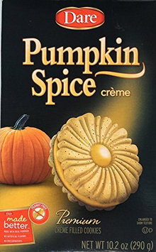 Dare 288468 10.2 oz Pumpkn Spice Cr me Cookie Pack of 12
