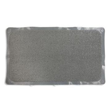 Loofah Style Tub Mat in Grey