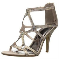Madden Girl Digitize Caged Rhinestone Dress Sandals Women's Shoes