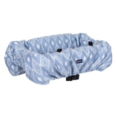 Bebe Au Lait® Padded Shopping Cart Cover in Light Blue