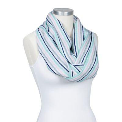 Bebe au Lait® Infinity Nursing Scarf in Multicolor Stripes