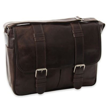 Piel Leather 2976 - BRN Vintage Everyday Messenger - Brown