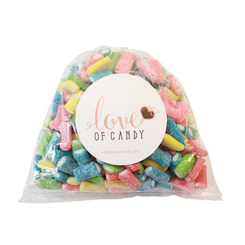 Love of Candy Bulk Candy - Neon Sour Filled Bites - 3lb Bag [Neon Sour Filled Bites]