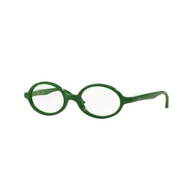 Ray-Ban RY1545-3636-44 Junior Kids Green Frame Clear Lens Genuine Eyeglasses NWT