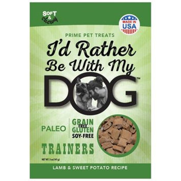 I'd Rather Be With My Dog Paleo [Options : Lamb]