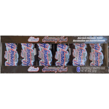 Elmer Candy Corporation Dark Chocolate Heavenly Hash Eggs - 6 Pack