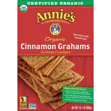 Annie's Organic Cinnamon Graham Cracker Bricks Graham Bricks, 14.4 oz