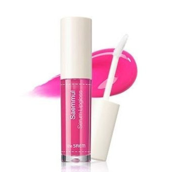 [the SAEM] saemmul serum lipgloss #04 PK02 deep pink 4.5g : Beauty