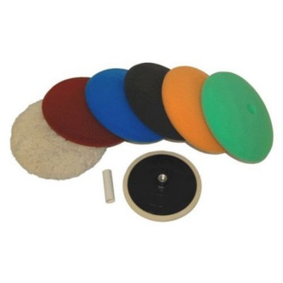 Buffing and Polishing Kit with 6 - 8