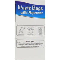 Pet All Star Waste Bags with Dispenser, 24 Rolls, 360 Count