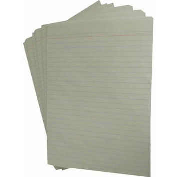 School Smart Theme Paper with Red Headline and No Margin - 8 1/2 x 11 inches - 500 Sheets - White