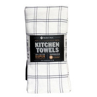 Member's Mark 10 pack 100% Cotton Kitchen Towel - Gray