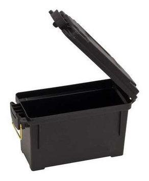 PLANO MOLDING 131200 Storage Box, Small, Black