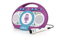 The Singing Machine Tabeoke Karaoke System with Resting Cradle - Purple
