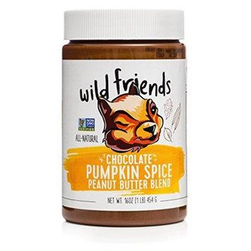 Wild Friends Foods Seasonal Chocolate Pumpkin Spice Peanut Butter Blend 16 oz