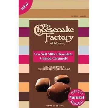 The Cheesecake Factory 2126803 5.1 oz Milk Sea Salt Caramel Chocolate - Case of 12