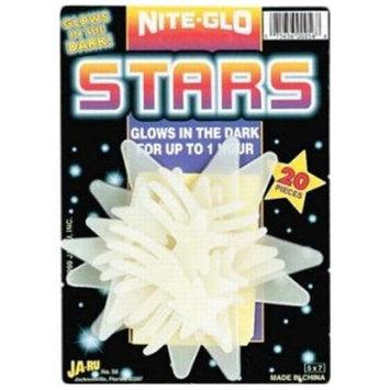 Bulk Buys Nite Glo Stars And Moon - Case of 12