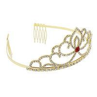 CamingHG Bridal Wedding Crystal Rhinestone Hair Headband Crown Comb Tiara Prom Pageant