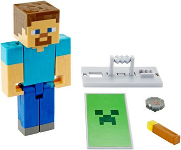 Minecraft Defend and Discover Steve Basic Figure