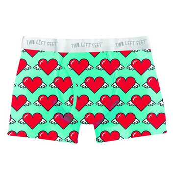 Two Left Feet Men's Trunks Love is in The Air Small 28-30