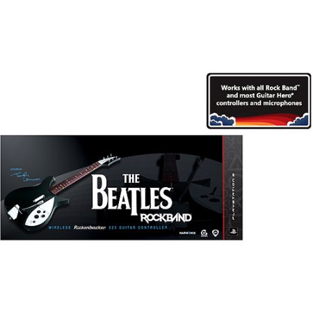 Electronic Arts The Beatles: Rock Band Wireless Rickenbacker 325 Guitar Controller