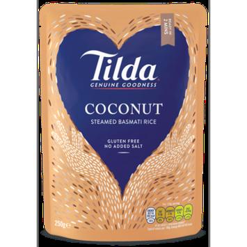 Hain Celestial Tilda Steamed Basmati Rice, Coconut, 8.5 Oz