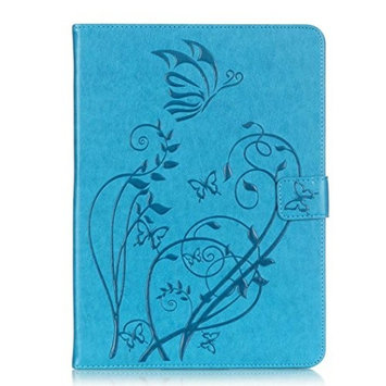 For Tab S2 9.7 Case, HP95(TM) Premium Leather Smart Case Magnetic Auto Sleep Cover + HD Screen Protective Film +Touch Pen For Samsung Galaxy Tab S2 9.7-inch T815/T810