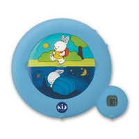 Kid Galaxy Kid'Sleep Classic Sleep Trainer and Night Light - Blue
