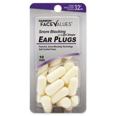 Harmon Face Values Snore Blocker White Ear Plugs 10 Pair