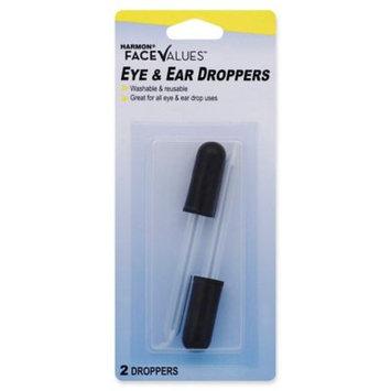 Harmon Face Values Eye & Ear Droppers 2Pk