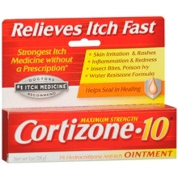 Cortizone 10 1% Hydrocortisone Anti-Itch Ointment